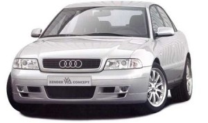Audi A4 B5 engine oil capacity in quarts / liters