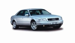 Audi A8 4D engine oil volume in quarts / liters