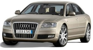 Audi A8 4E engine oil capacity in quarts / liters