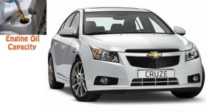 Chevrolet Cruze engine oil volume in quarts - liters