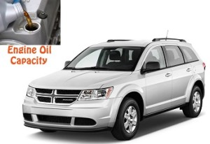 Dodge Journey engine oil volume in quarts – liters