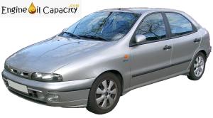 Fiat Brava engine oil capacity in quarts – liters