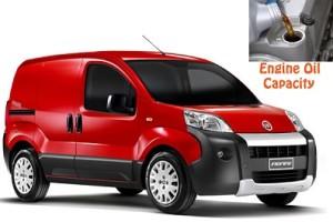 Fiat Fiorino engine oil volume in quarts – liters