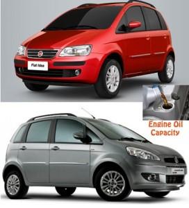 Fiat Idea engine oil volume in quarts – liters
