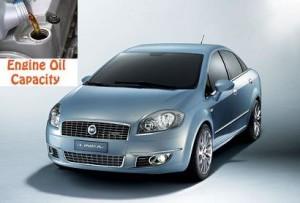 Fiat Linea engine oil volume in quarts – liters