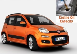 Fiat Panda 3 engine oil volume in quarts – liters