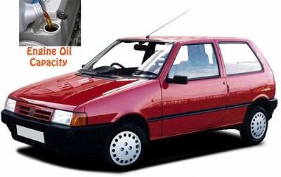 Fiat Uno Engine Oil Capacity In Quarts Liters Engine
