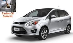 Ford C-Max 2 engine oil volume in quarts – liters