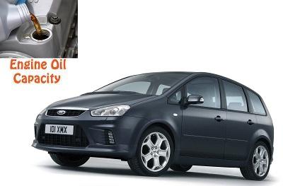 Ford C Max Engine Oil Volume In Quarts Liters
