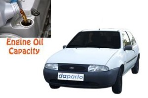 Ford Fiesta 4 engine oil volume in quarts – liters