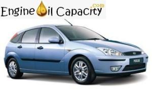 Ford Focus 1 engine oil volume in quarts – liters