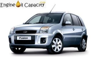 Ford Fusion Plus engine oil volume in quarts – liters