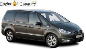 Ford Galaxy 2 engine oil volume in quarts – liters