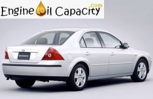 Ford Mondeo 3 engine oil volume in quarts – liters