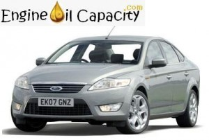 Ford Mondeo 4 engine oil volume in quarts – liters