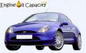 Ford Puma engine oil volume in quarts – liters